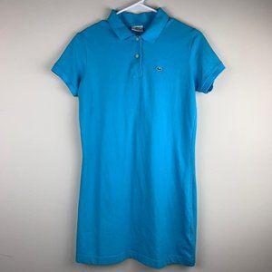 Lacoste Women's Polo Stretchy Polo Dress size L